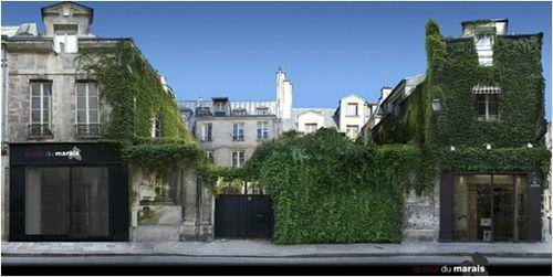 la cour du marais - Paris
