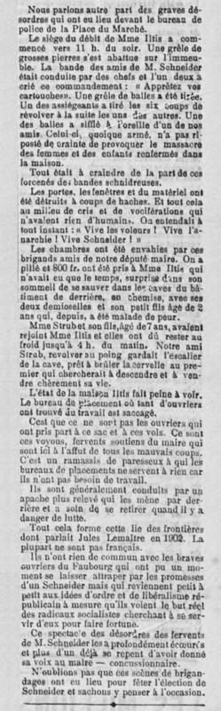 1904 05 05 Commerce Iltis Pillage L'Alsace R