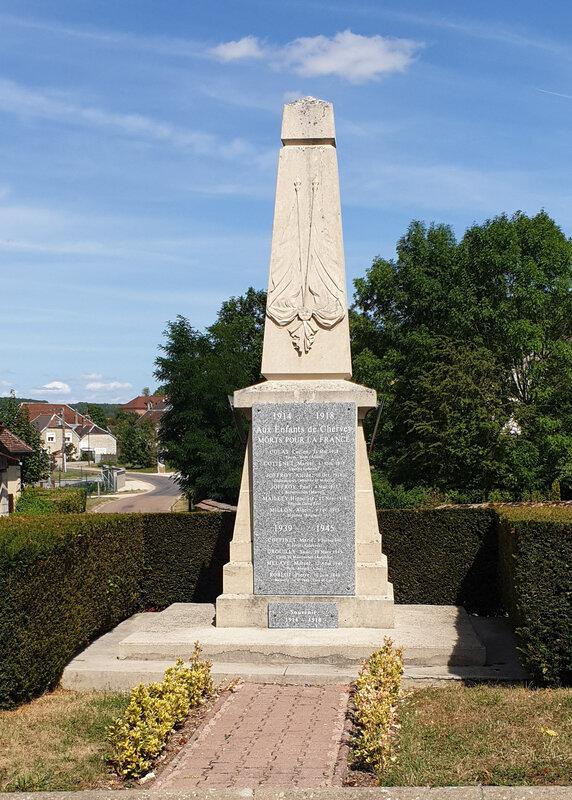 1 monument Chervey