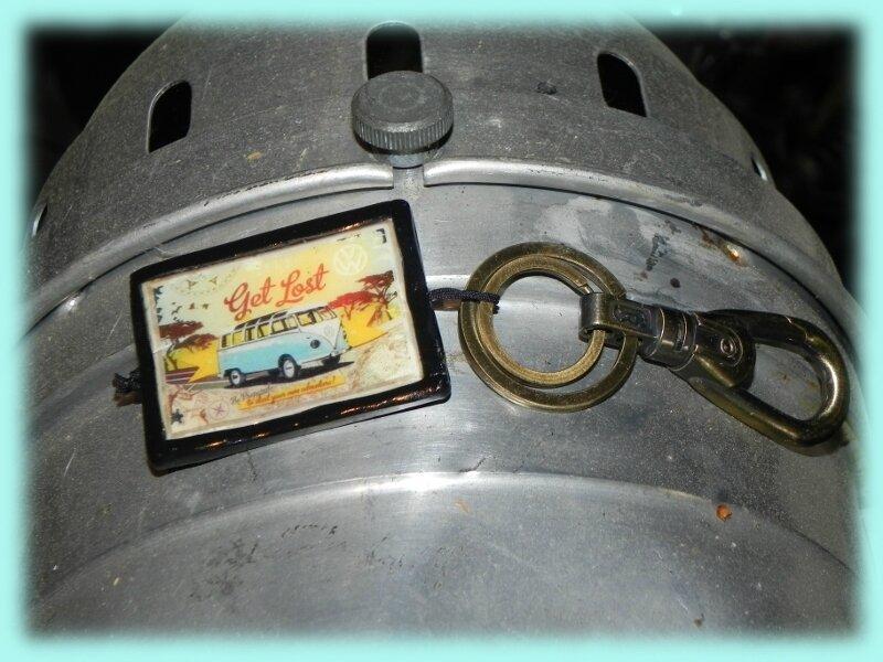 Porte clefs combi