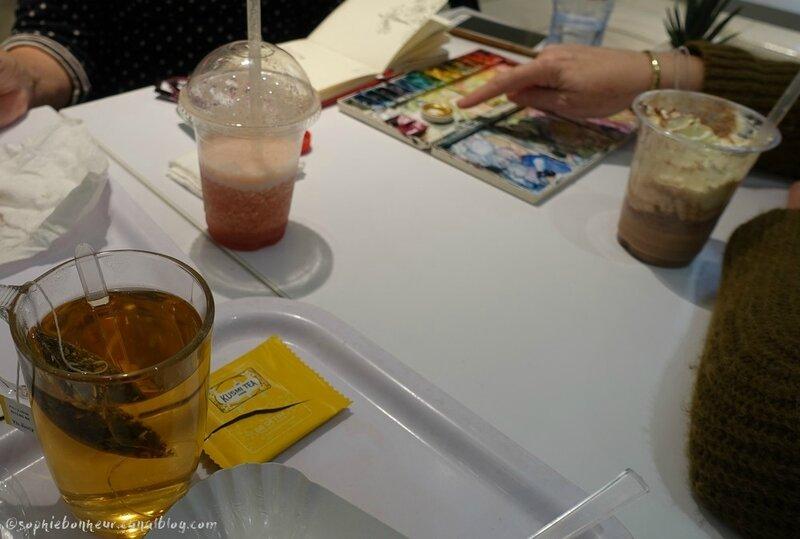 P White café