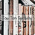 Top ten tuesday # 83