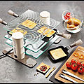 Transparence - raclette 4 personnes - raclette 6 personnes - raclette 8 personnes - raclette 10 personnes - lagrange