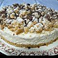 Gâteau au café doux de ph. conticini pour la saint-valentin
