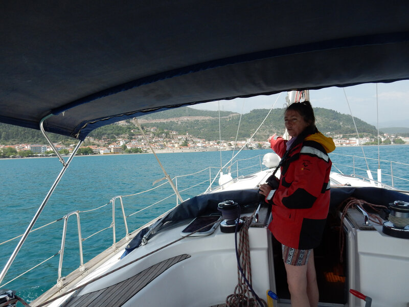 Arrivée dans la baie de Navpaktos 180418 DSCN7008