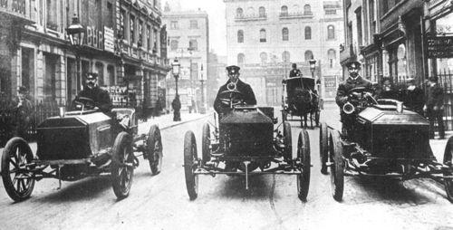 1903 gordon bennett trophy - napier team, john stocks, charles jarrott, selwyn francis edge