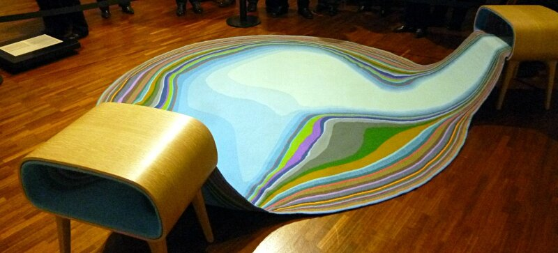 tapis-sculpture