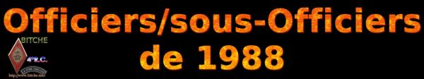 OFFICIERS sous OFFICIERS de BITCHE 1988a