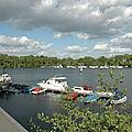 019 Lac de Tegel ( Vue depuis la terrasse du Pavillon du Lac )