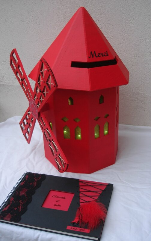 urne moulin rouge - idees et merveilles 3