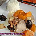 Filet mignon de porc salé-sucré (sans soucis et festif)