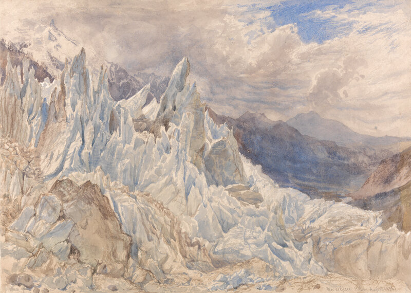 Henry Moore, Mer de Glace, 1856