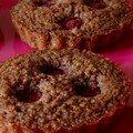Tartelette-financier chocolat-framboise et autre version