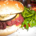 Hamburger provencal