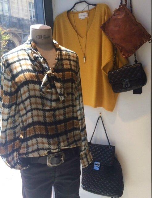 blouse lavalliere OTTOD'AME hiver 17 boutique Avant Après 29 rue Foch 34000 Montpellier