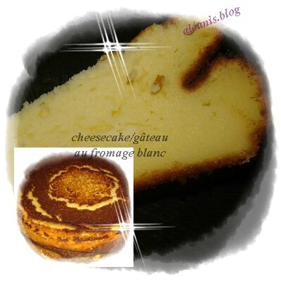 gâteau fromage blc