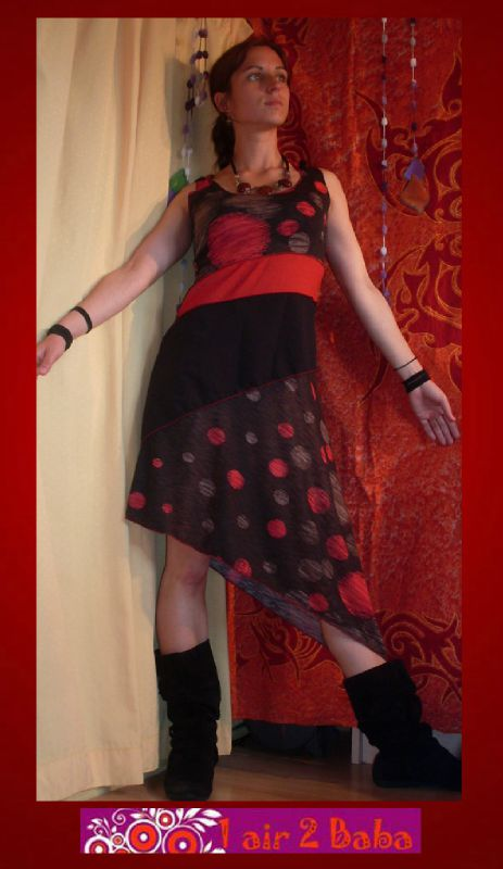 robe lutin rouge