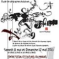 Stage de calligraphie animé par laurent pflughaupt