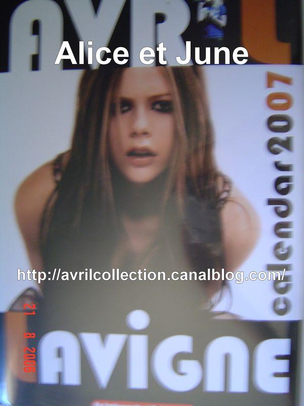 calendrier non officiel 2007