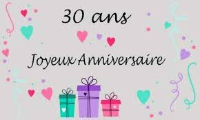 MES 30ANS