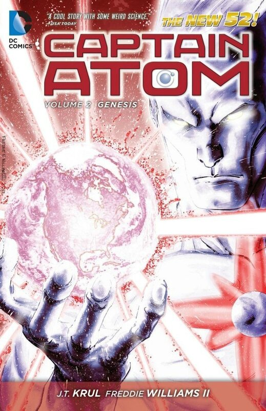 captain atom vol 2 genesis TP