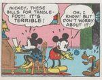 Mickey Mouse de Floyd Gottfredson chez Gloewen et Scrat 4