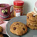 Cookies délicieux à la pâte de speculoos