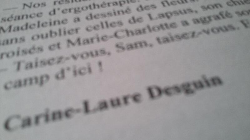 """Dans Aura 98, """"C'était pas une bonne idée, Sam"""", un texte de C.-L. Desguin"""