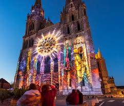 chartres en lumieres cathedrale