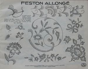 4 - feston allongé