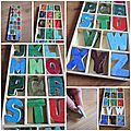 Alphabet coloré !