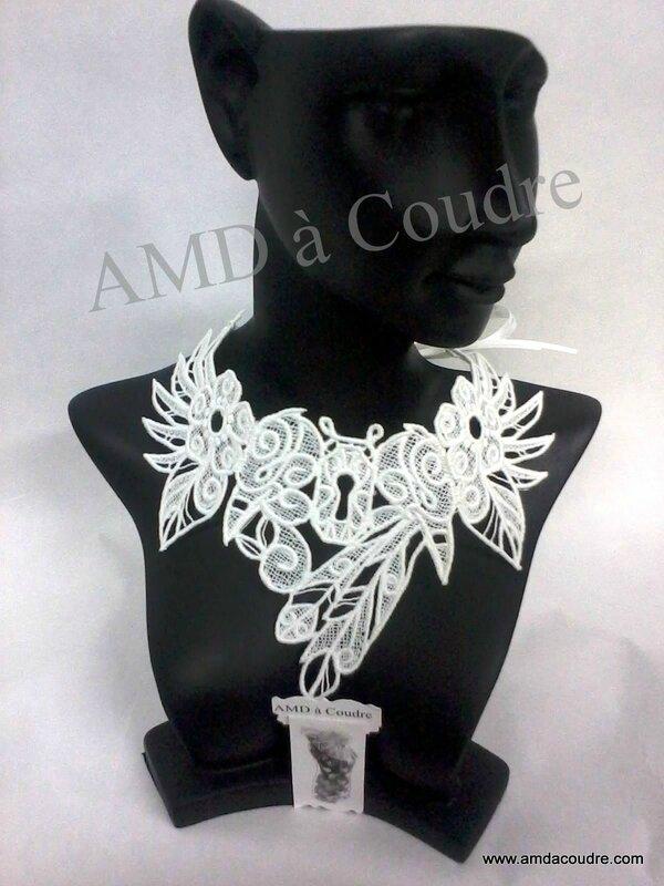ceremonie mariages decoration masques dentelles broderie coussin amd a coudre (8)