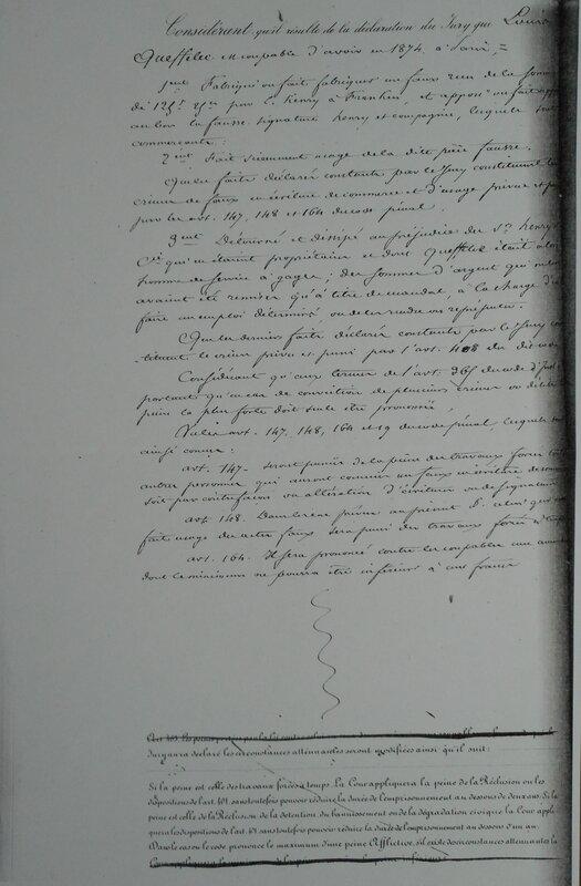 Arrêt du 7 septembre 1874 page 2