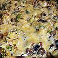 Omelette légumes saveur et fromage