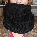 snood noir