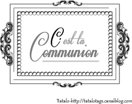 communion 1 noir et blanc