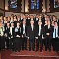 Concert +á HAGUENAU La Chorale Strasbourgeoise 2