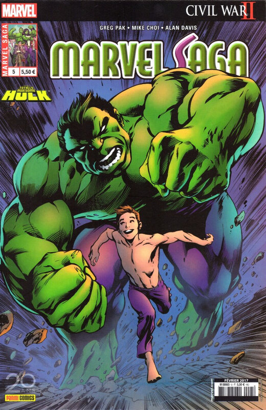 marvel saga V3 05 totally awesome hulk