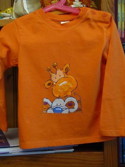 tee shirt girafe3
