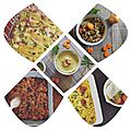 Octobre semaine 4: menus simples rapides et bons!