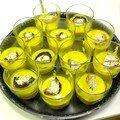 Crème de potimarron au cumin et croutons de foie-gras