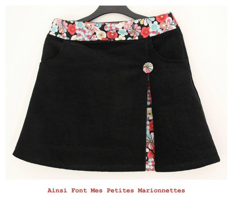 jupe noir 1