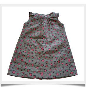 Dos robe boutonnée-framed