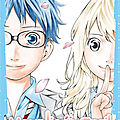 Your lie in april, de naoshi arakawa