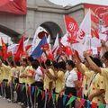 Anshan - Les spectacles de la cérémonie de départ