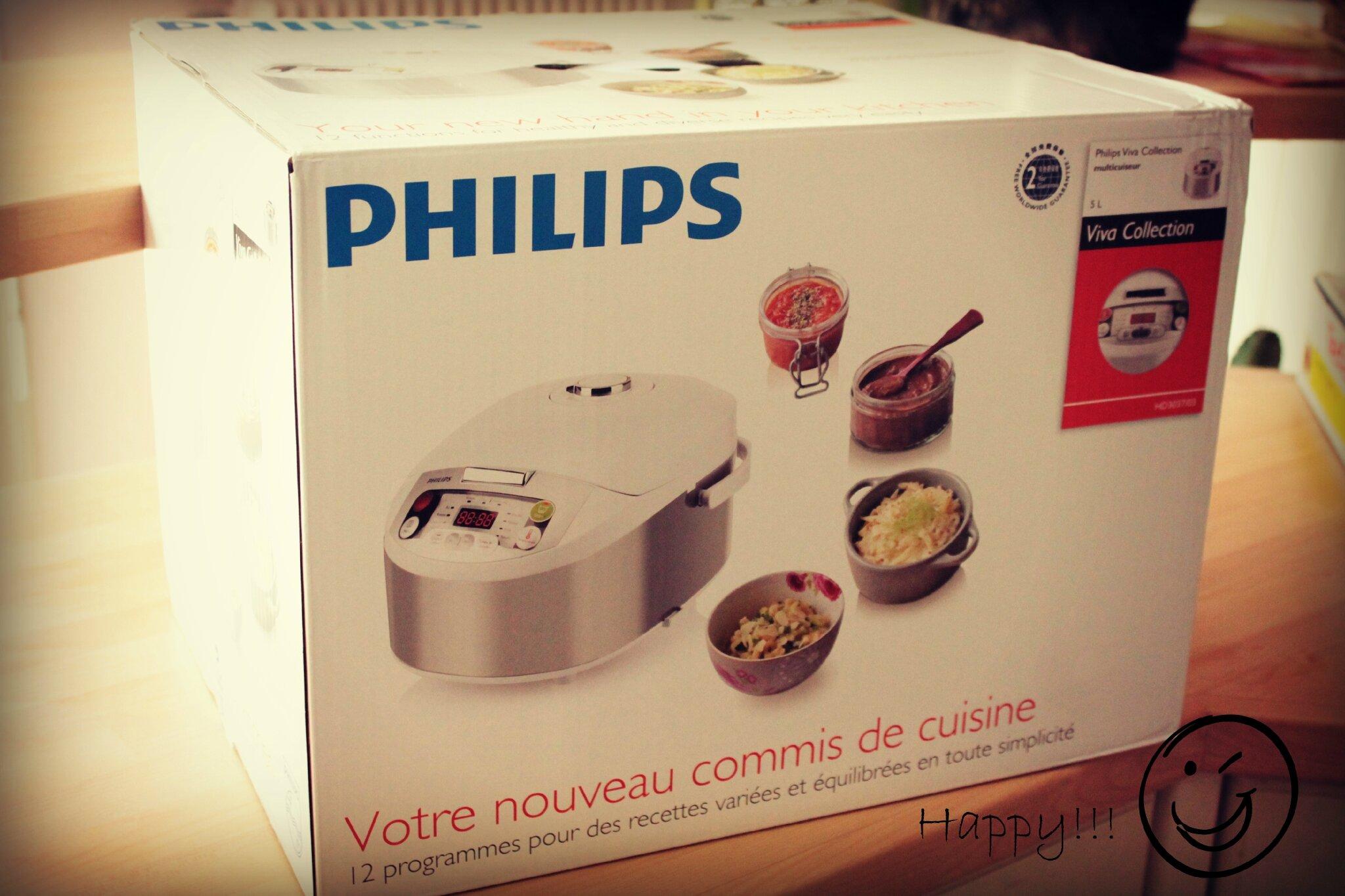 multicuiseur philips viva collection et en bonus la recette de mon