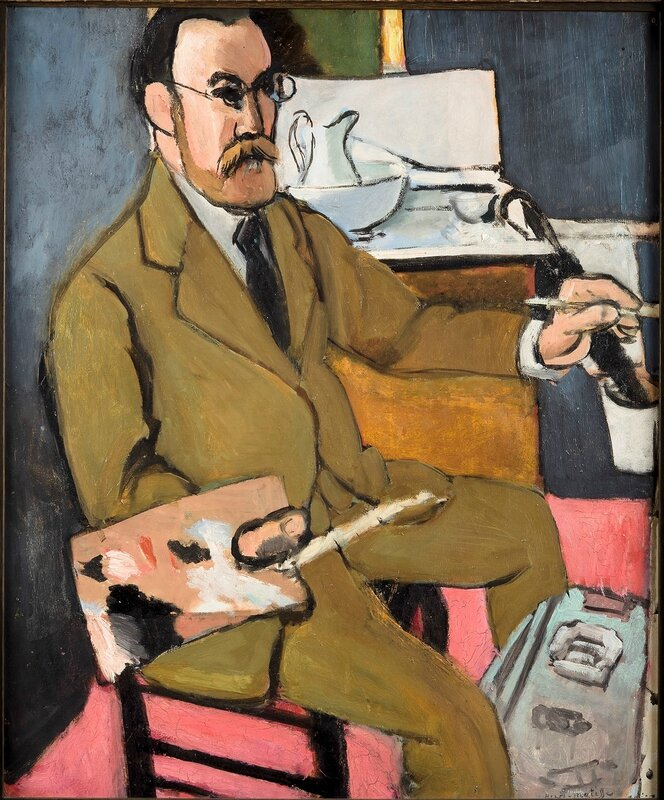 Henri Matisse, 'Self Portrait', 1918