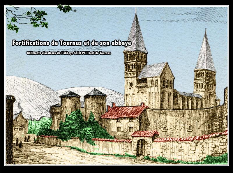Fortifications de Tournus et son abbaye