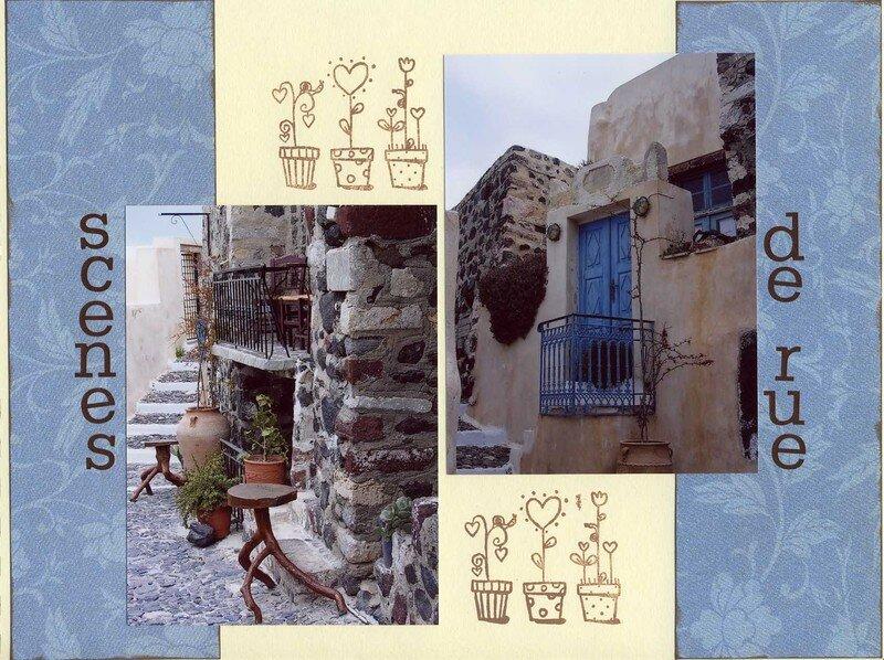 Iles grecques (10) scènes de rue