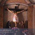 Jésus en jupe inca, église de San Pedro de Atacama